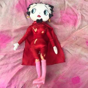Vintage Red Devil Betty Boop (Halloween decor)